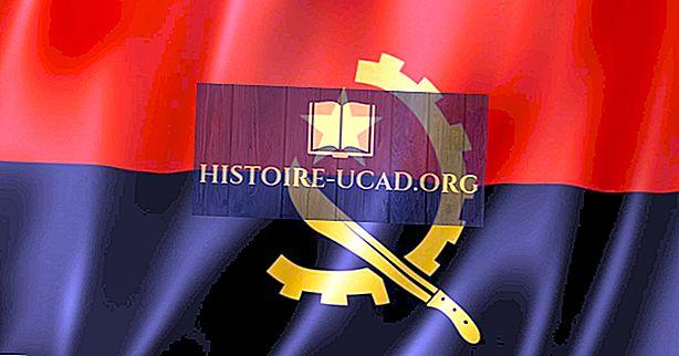Mida tähendavad Angola lipu värvid ja sümbolid?