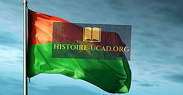 Que signifient les couleurs et les symboles du drapeau du Burkina Faso?