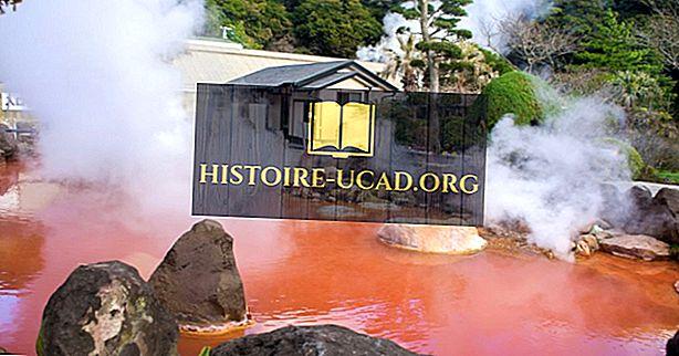 Los nueve infiernos de Beppu: lugares únicos en todo el mundo