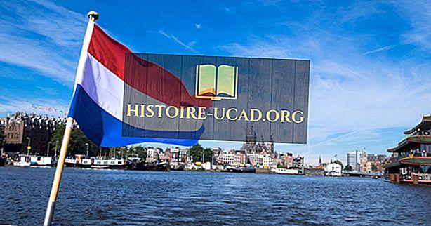 オランダの国旗の色と記号はどういう意味ですか?