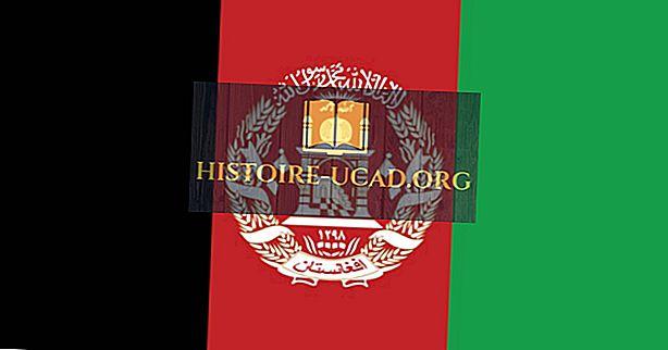 Afganistanska zastava - barve, simboli in pomen