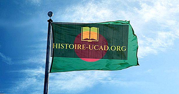 Застава Бангладеша - боје, симболи, значење