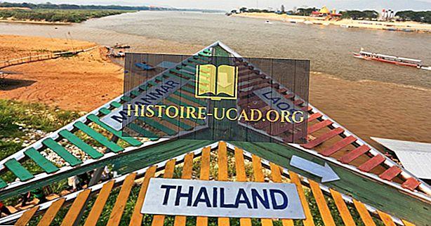 Které země hraničí s Thajskem?