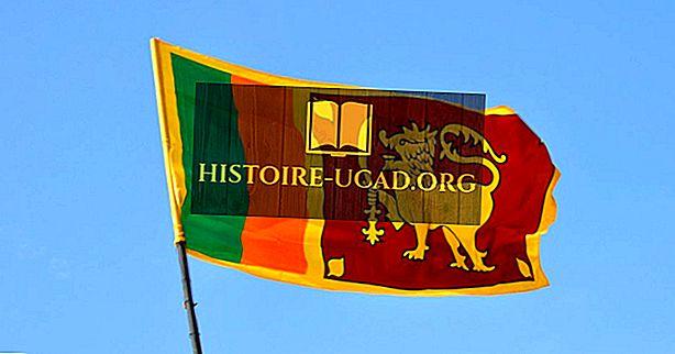 ماذا تعني ألوان ورموز علم سريلانكا؟