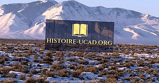 11 národních přírodních památek Idaho