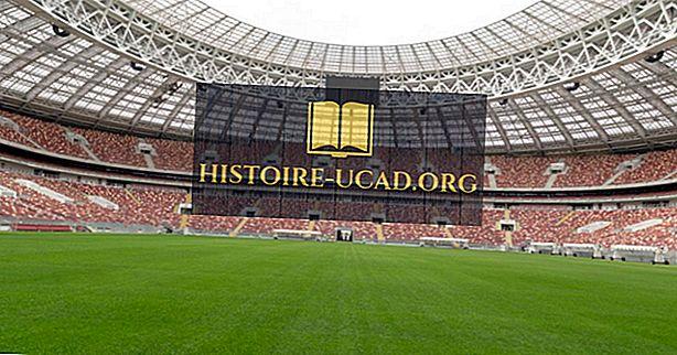 Les stades de la Coupe du Monde de la FIFA 2018 en Russie