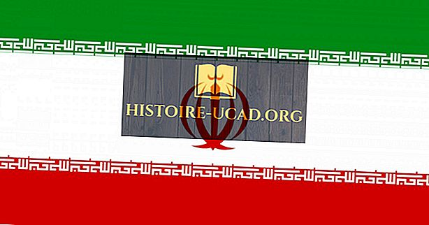 Co znamenají barvy a symboly vlajky Íránu?