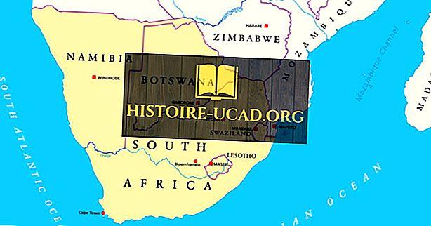 Katere države so del južne Afrike?