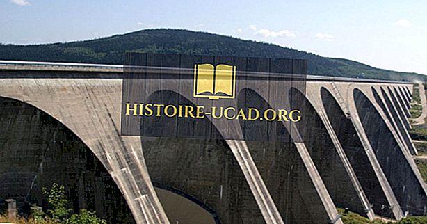 Највеће хидроелектране у Канади