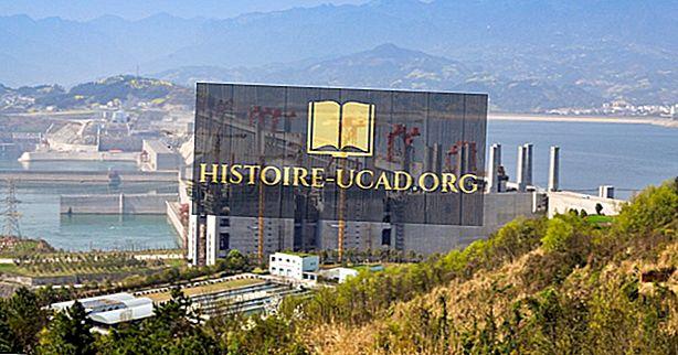 De grootste waterkrachtcentrales in China