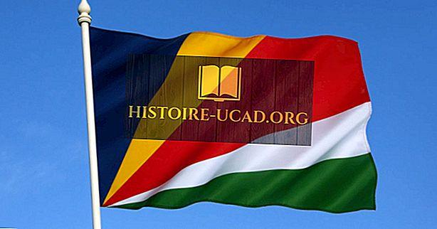 Ko nozīmē Seišelu salu karoga krāsas un simboli?