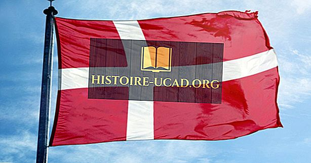 Кой е най-старият национален флаг?