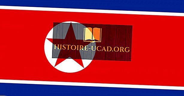 Mitä Pohjois-Korean lipun värit ja symbolit merkitsevät?