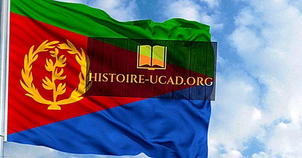 Que signifient les couleurs et les symboles du drapeau de l'Érythrée?