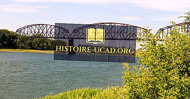 Los 10 ríos más largos de Dakota del Norte