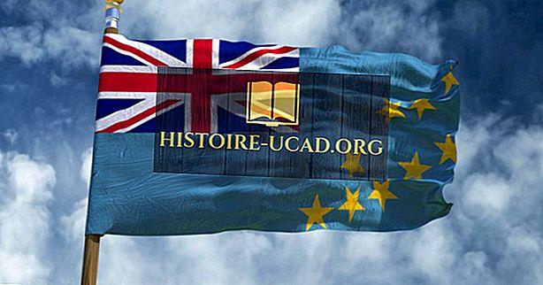 Ko nozīmē Tuvalu karoga krāsas un simboli?