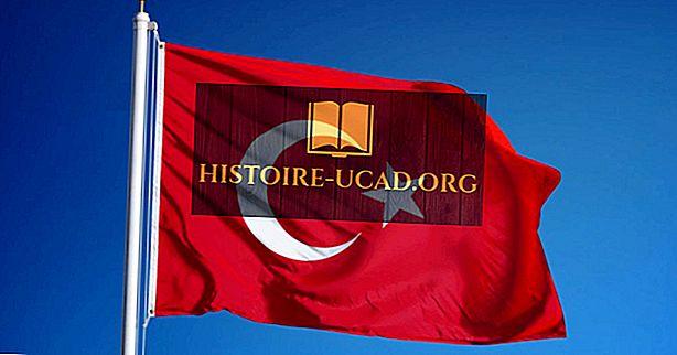 O que as cores e os símbolos da bandeira da Turquia significam?