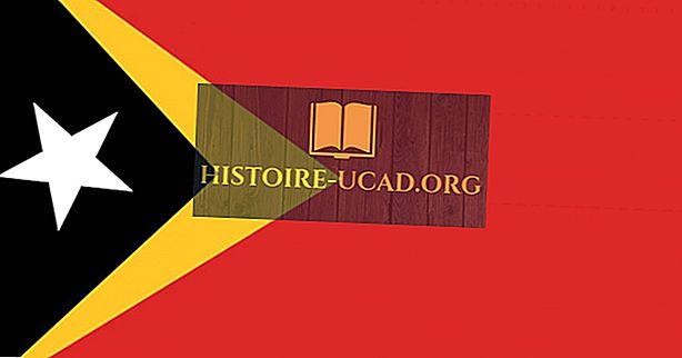 O que significam as cores e os símbolos da bandeira de Timor Leste?