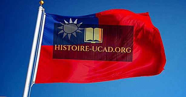 ماذا تعني ألوان ورموز علم تايوان؟