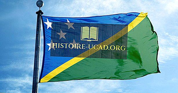 Шта значе боје и симболи заставе Соломонских острва?