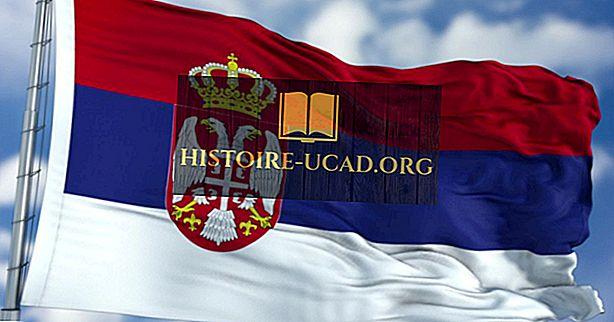 Τι σημαίνουν τα χρώματα και τα σύμβολα της Σημαίας της Σερβίας;