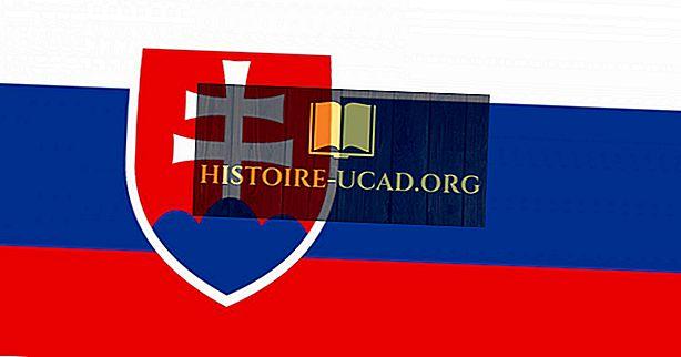 Hvad betyder farverne og symbolerne i Slovakiets flag?