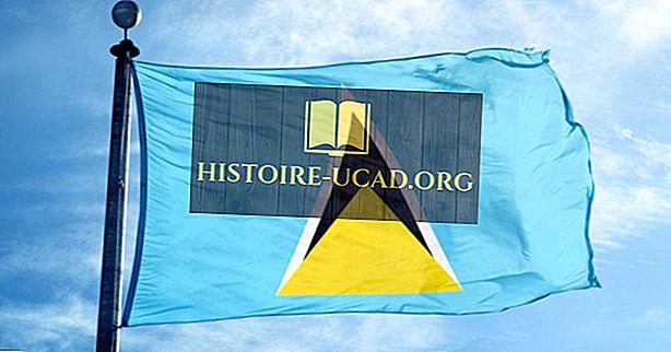 Ko nozīmē Svētās Lūsijas karoga krāsas un simboli?