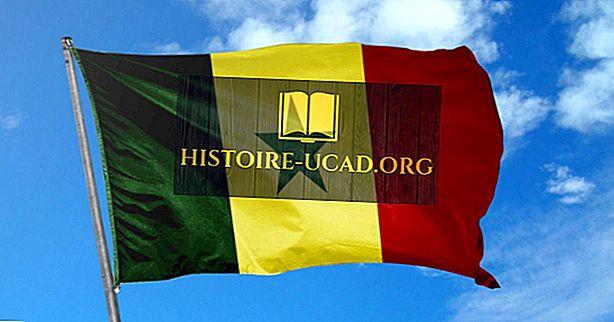 Какво означават цветовете и символите на знамето на Сенегал?