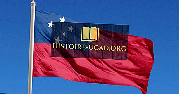 Co znamenají barvy a symboly vlajky Samoa?