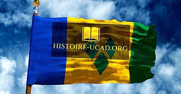 Co znamenají barvy a symboly vlajky Svatého Vincenta a Grenadin?