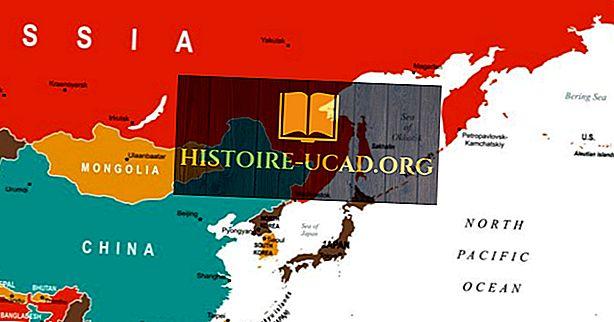 Koje zemlje su dio istočne Azije?