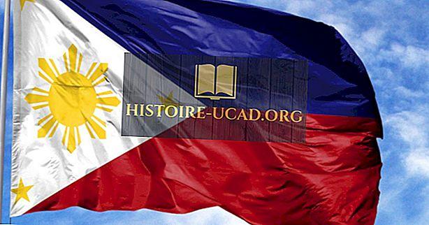 フィリピンの国旗の色と記号はどういう意味ですか?
