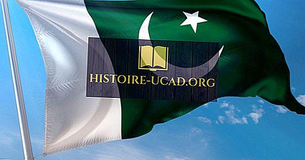 Какво означават цветовете и символите на знамето на Пакистан?