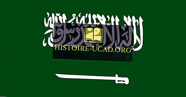 Какво означават цветовете и символите на флага на Саудитска Арабия?