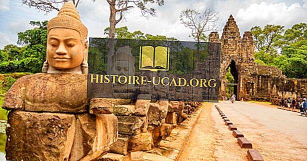 Kuinka Kambodža sai nimensä?