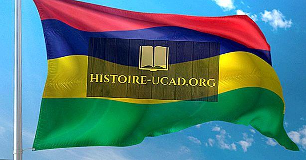 Kaj pomenijo barve in simboli zastave Mauritiusa?