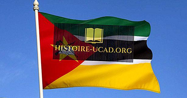 Ko nozīmē Mozambikas karoga krāsas un simboli?