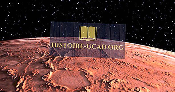 Od čega je Mars napravljen?