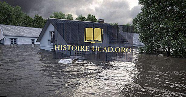 Kas izraisa plūdus?