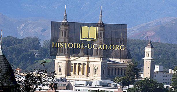 カリフォルニアの宗教的信念