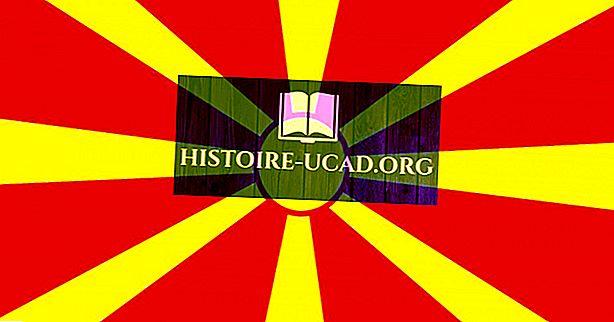 Co znamenají barvy a symboly vlajky Makedonie?
