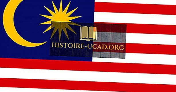 O que as cores e os símbolos da bandeira da Malásia significam?