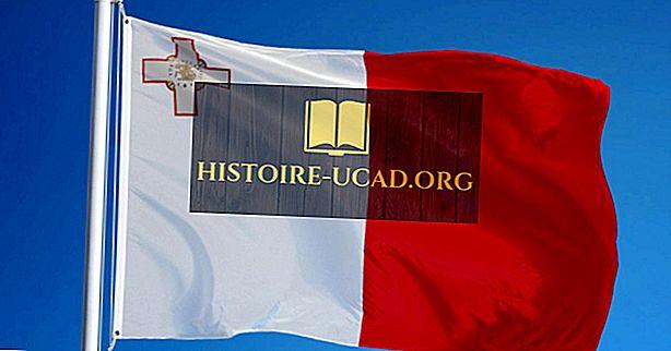 Čo znamenajú farby a symboly vlajky Malty?