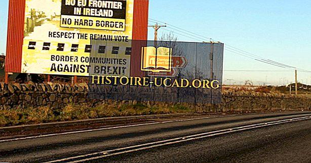 Quais países fazem fronteira com a Irlanda?