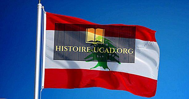 लेबनान के ध्वज के रंगों और प्रतीकों का क्या मतलब है?