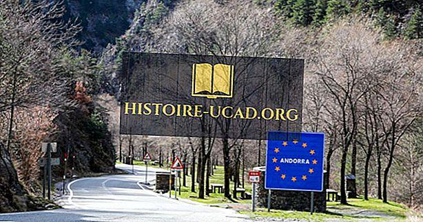 Které země hraničí s Andorrou?