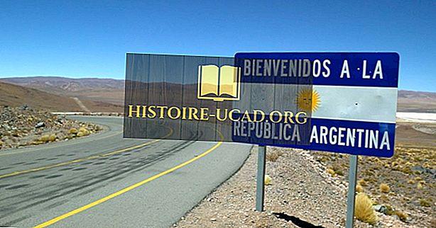 Które kraje graniczne Argentyna?