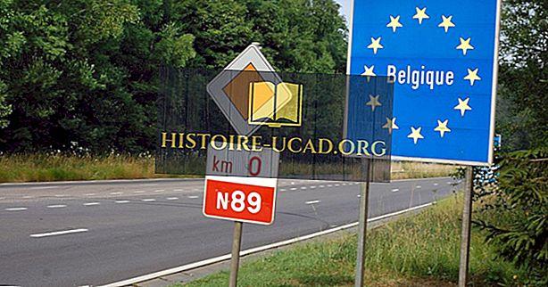 Které země hraničí s Belgií?