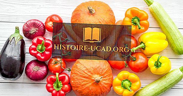 Prise de légumes aux États-Unis