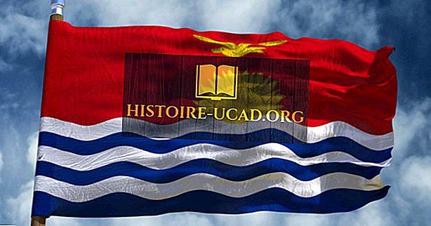 Que signifient les couleurs et les symboles du drapeau de Kiribati?
